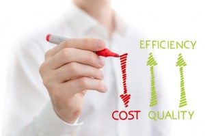 Reducing enterprise service delivery costs